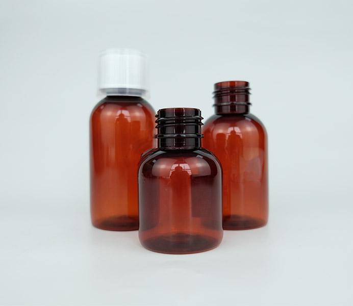 120mL Standard PET Liquid Bottle for Oral Solution-15120