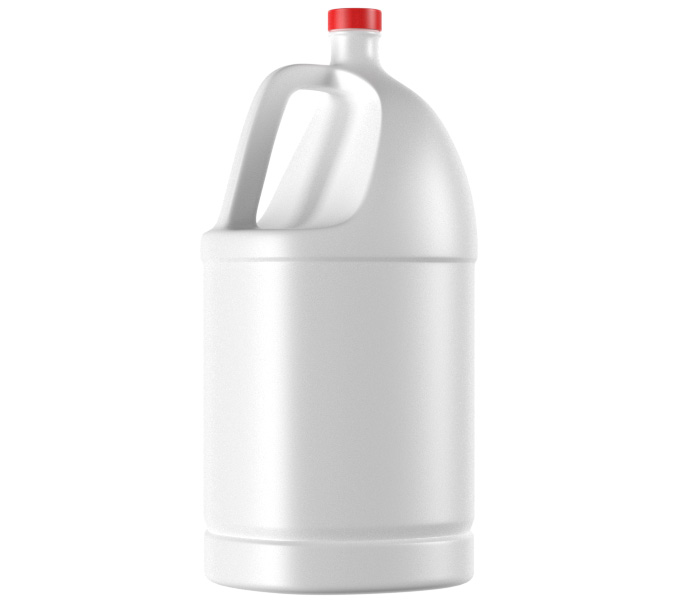 5L HDPE Liquid Container with Red Cup-04500