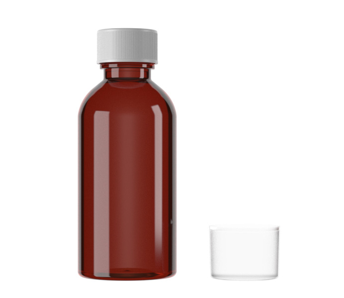 120mL Standard PET Liquid Bottle for Oral Solution-15120