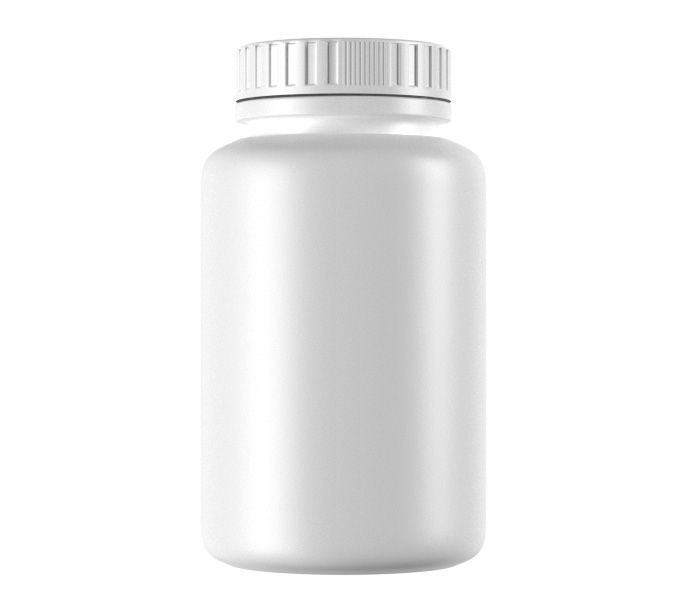 120mL Standard HDPE Pharma Container-50120