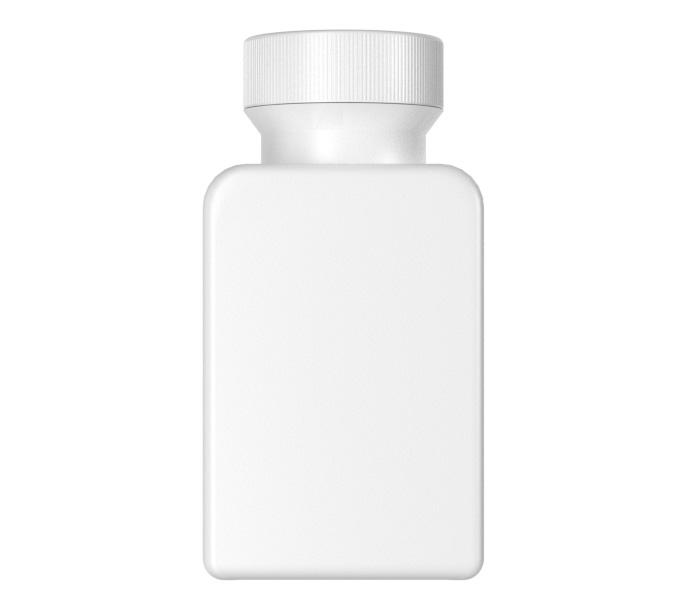 30mL Standard HDPE Square Medicine Bottle-28030