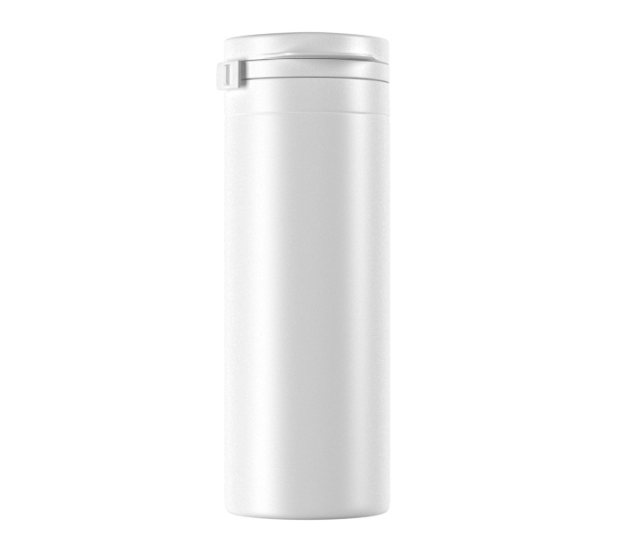 50mL HDPE Gum Bottle with Flip Cap-40050