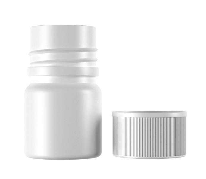 10mL Standard HDPE Container for Tablets and Capsule-13010